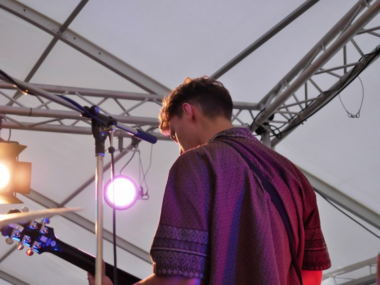 Liquid Curtain auf der Bühne