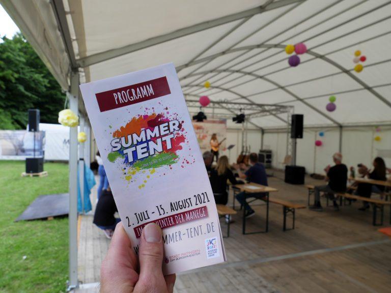 Das Programm des Summer Tent