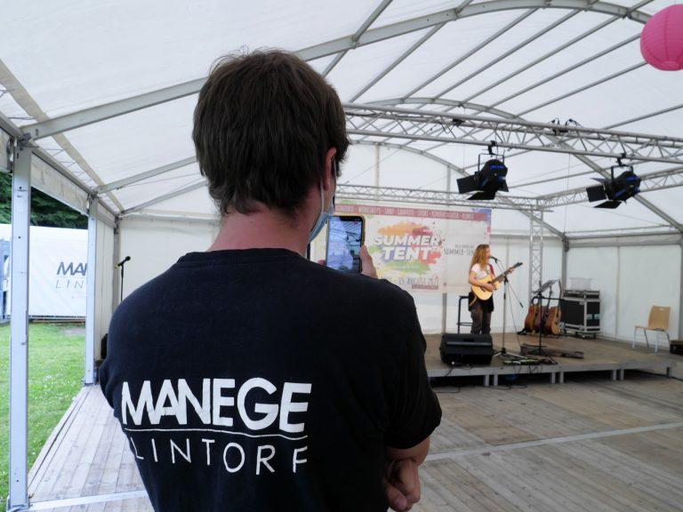 Das Team von der MANEGE beim Summer Tent