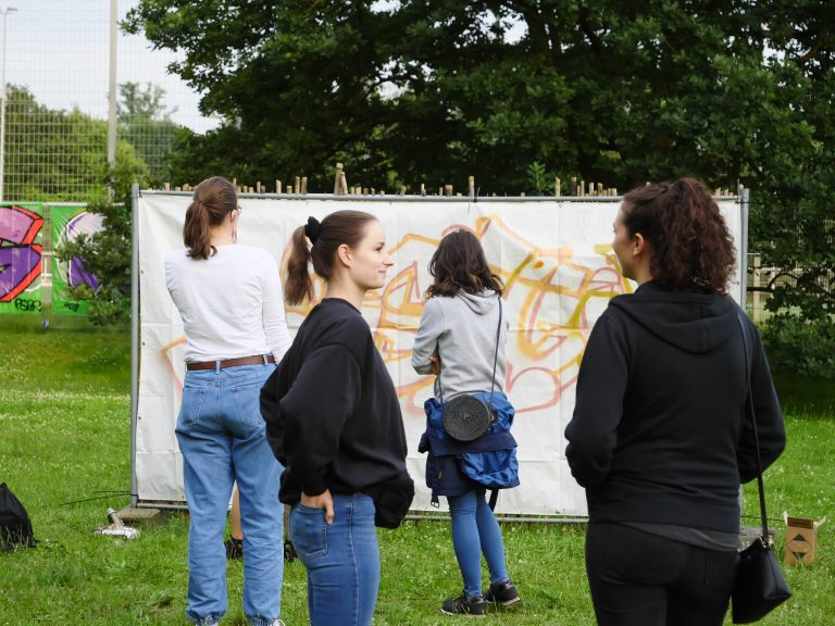 Freie Graffiti-Wand